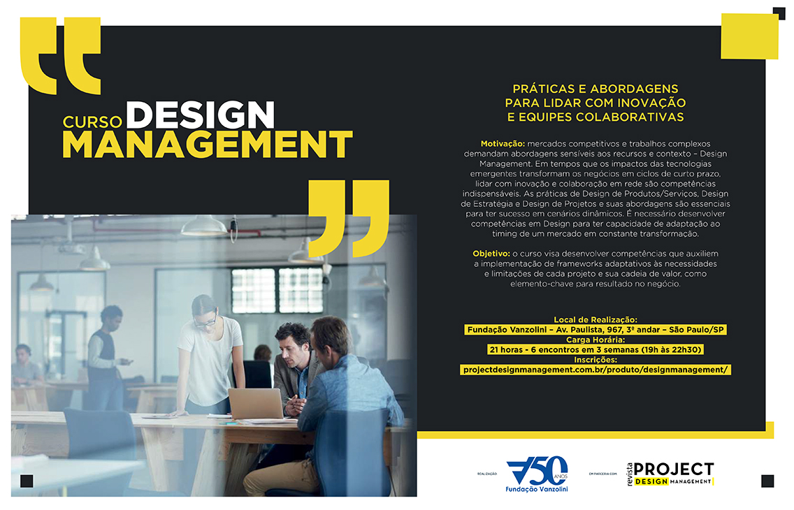 Curso Executivo: Design Management
