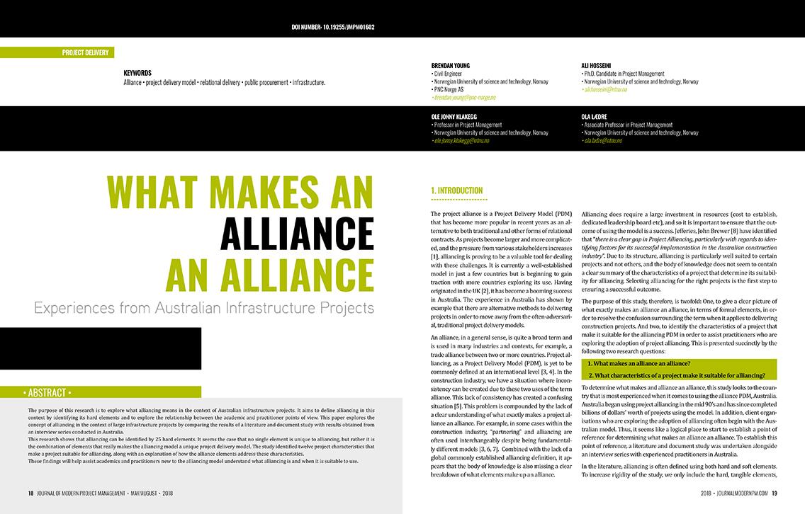 What Makes an Alliance an Alliance